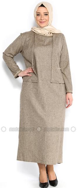 Model Baju Muslim untuk Orang Gemuk dan Pendek
