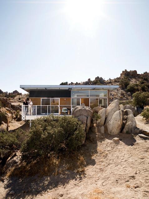 แบบบ้านชั้นเดียวกลางทะเลทราย