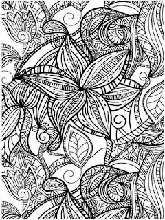 free printable flower garden coloring pages