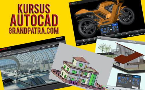 Program Kursus AUTOCAD 2D - 3D di Bekasi