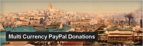 Multi-Currency PayPal Donations WordPress plugin