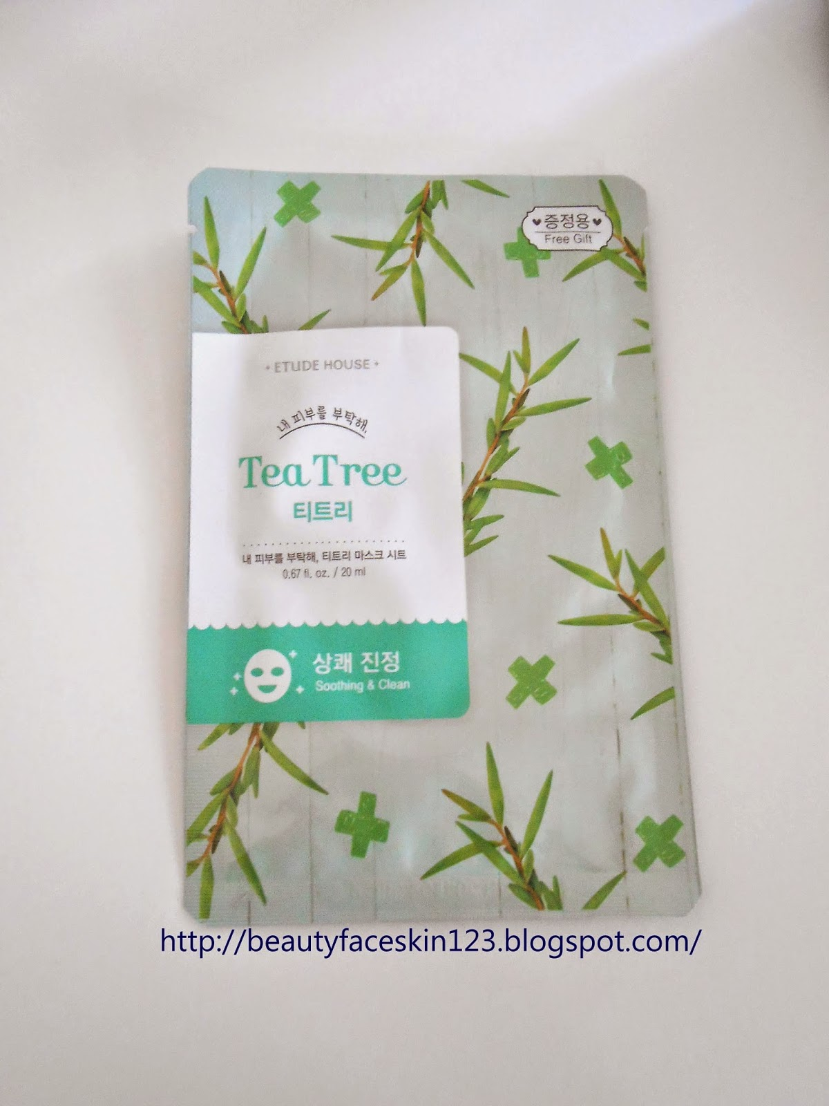 ETUDE HOUSE I NEED YOU TEA TREE MASK SHEET
