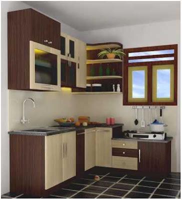 model dapur sederhana dan rapi