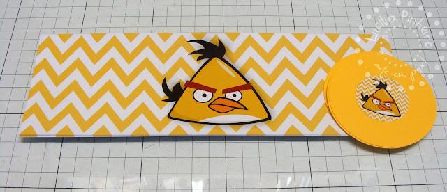 Toppers Personagens Angry Birds: Lucilia Pinheiro Arte Em Papel: ANGRY BIRDS