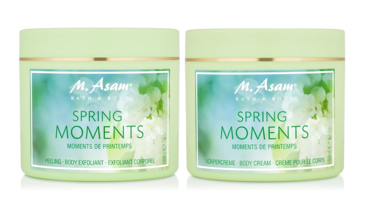 M. Asam®  BodyCream & BodyScrub SPRING MOMENTS