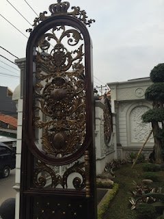 Pintu Besi Tempa, Pintu Antik, Pintu Besi Klasik