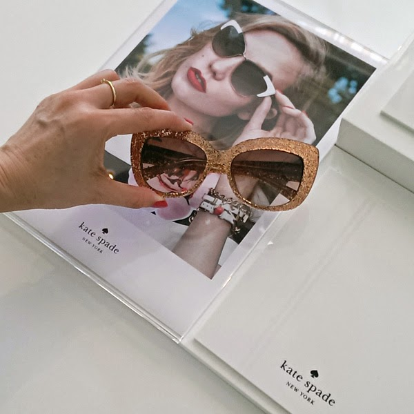 kate spade - Safilo SS 2015 Sunglasses & Eyewear Media Showcase. Street Fashion Sydney by Kent Johnson.