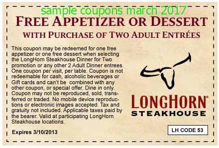 Www longhornsteakhouse coupons / Thursday night dinner deals