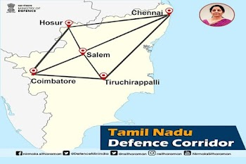 Tamil Nadu Defence Corridor to formally launch this week: Official
