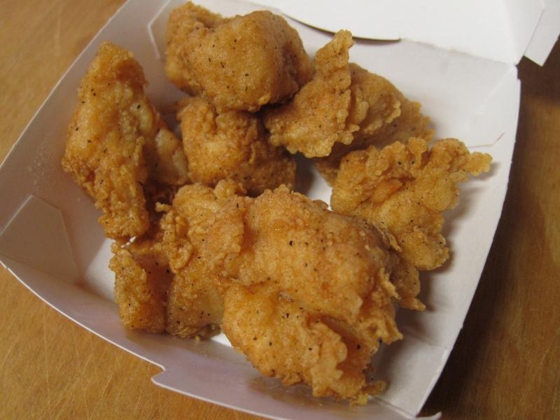 review kfc original recipe bites brand eating