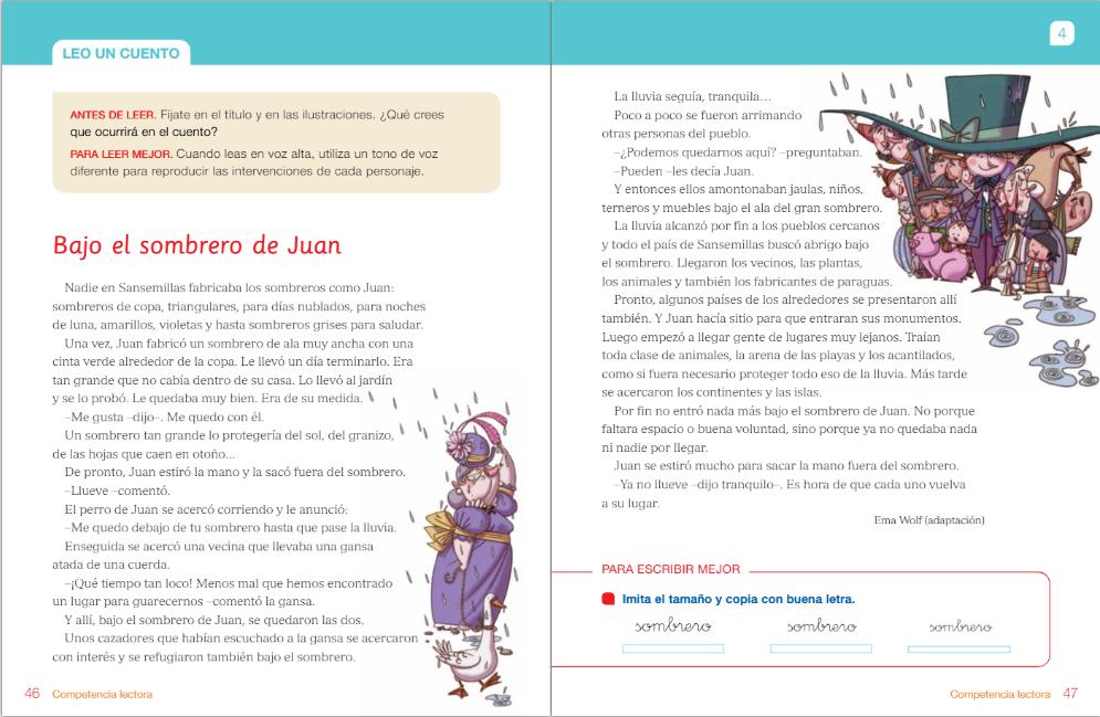 Empezamos la unidad 4 de Lengua con las actividades de introducción sobre el  tiempo y un texto titulado