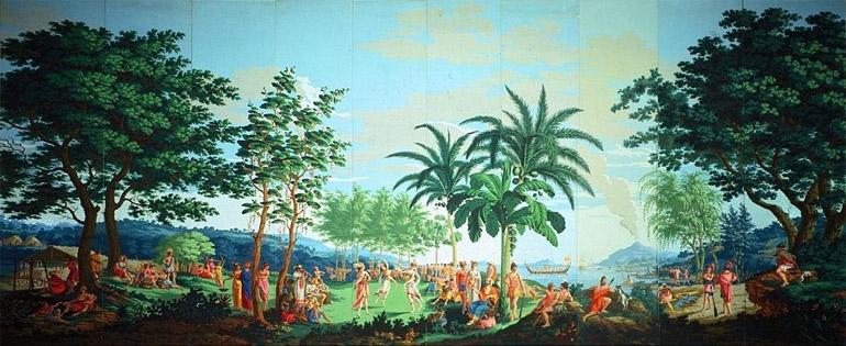 Lés 1 à 10 du papier peint Les Sauvages de la mer du Pacifique
