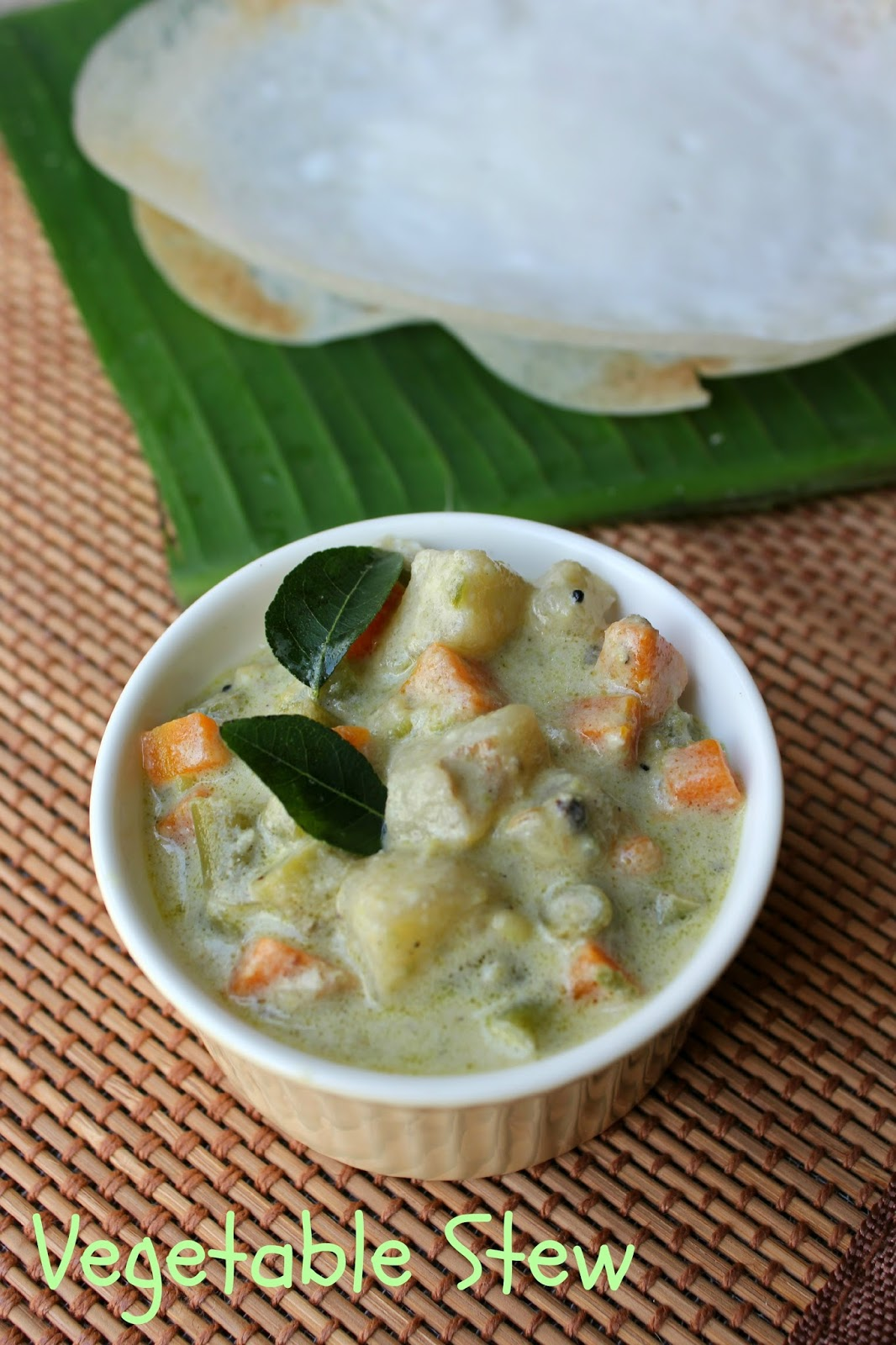 kerala vegetable stew, vegetable stew
