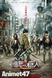 Attack on Titan Live Action - Tấn Công Người Khổng Lồ 2015 2015 Poster