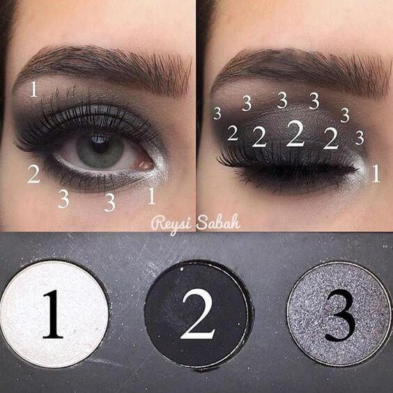 Luxury Makeup - Kim kardashian's Last Instagram Dark Eyeshadow Look Tutorial