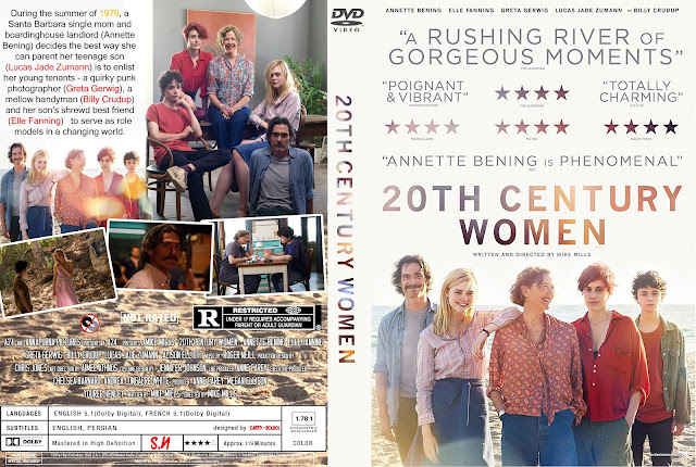 20th Century Women DVD Cover