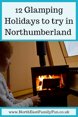 12 Glamping Holidays to try in Northumberland