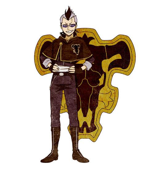 Genki Muro como Magna Swing