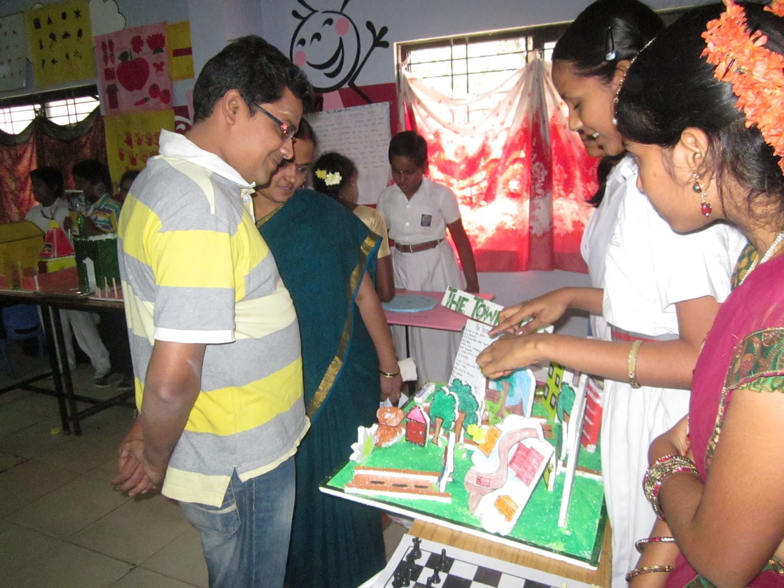 Gowtham Model School Hubsiguda  Science Exhibition