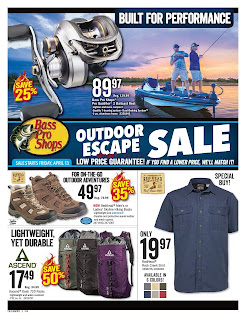 Bass Pro Shops current flyer April 13 - 29, 2018