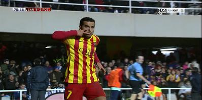 Copa Del Rey : Cartegena 1 vs 4 Barcelona 06-12-2013