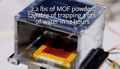 Alat Ini Bisa Menarik Air Minum dari Udara Kering