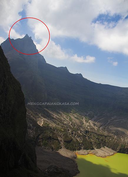 Puncak Tertinggi Gunung Kelud