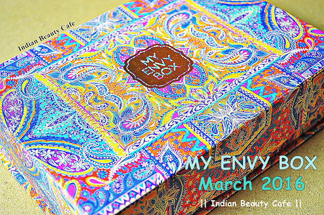 My Envy Box March 2016 photos, price, buy online india