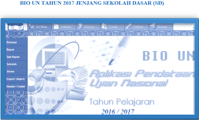 [Unduh] Aplikasi Bio UN Tahun 2017 Untuk Sekolah Dasar ( SD ) lengkap