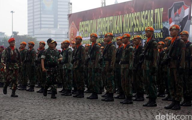 Ini Landasan Pasukan 'Super Elite' TNI Ikut Ganyang Teroris