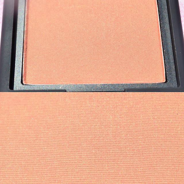 Closeup image of the blush pan