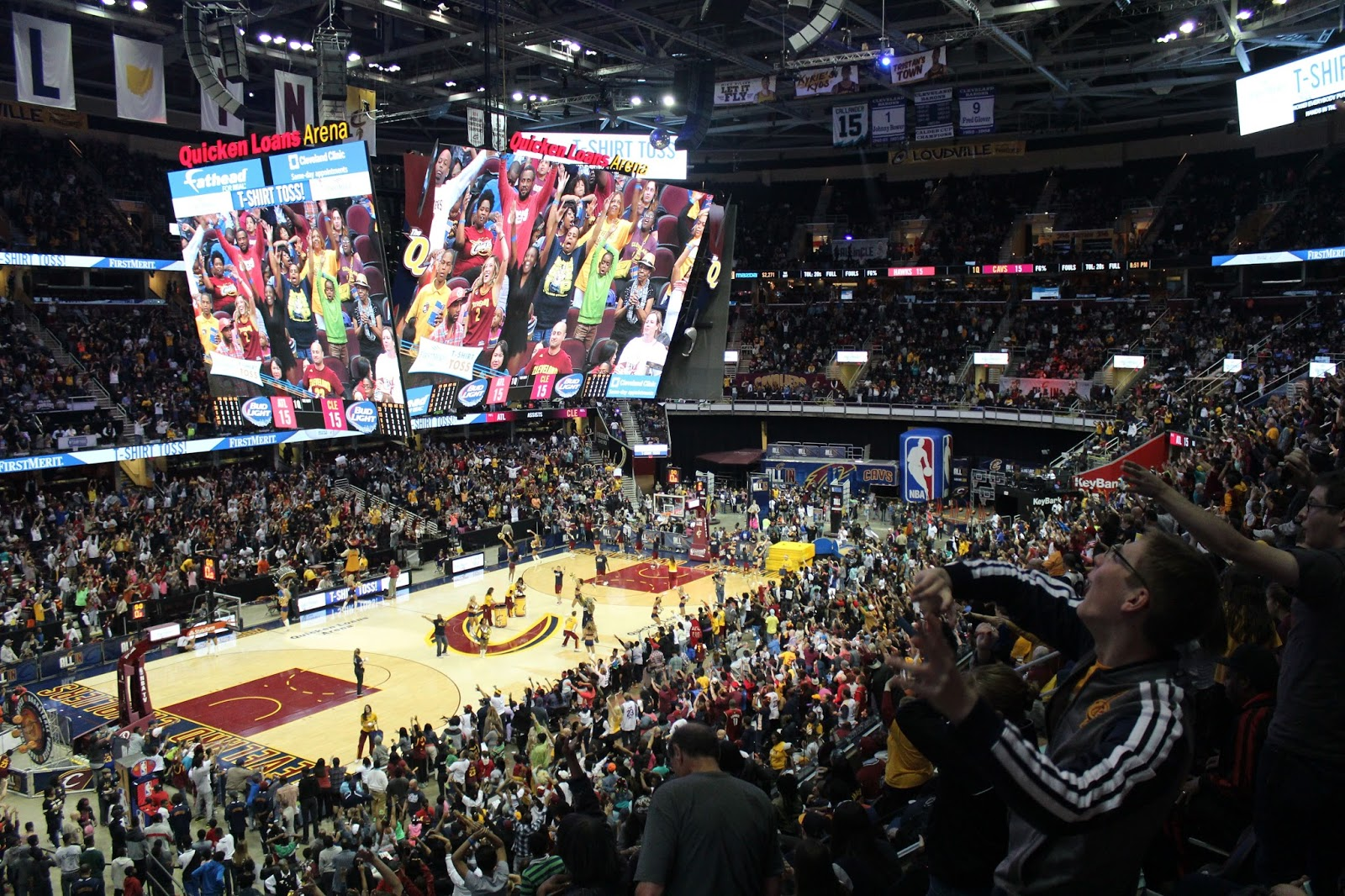 NBA Finals Game 1 - Cleveland Cavs Watch Party - YouTube