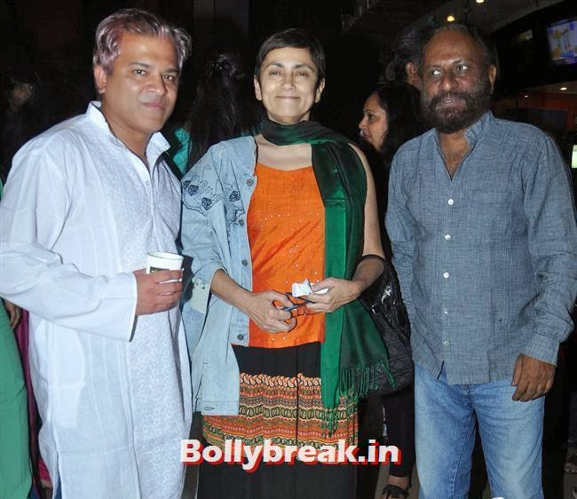 Ketan Mehta and Deepa Shahi, Ankhon Dekhi Movie Premiere Pics