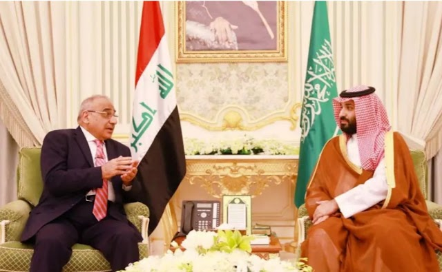 Iraqi PM met Saudi crown