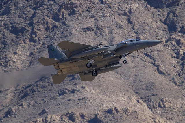 Saudi F-15SA Red Flag Nellis