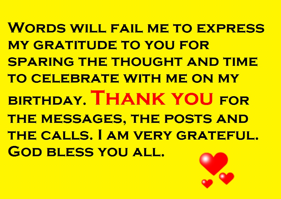 Thanks for the birthday wishes notes and quotes cute instagram quotes m4hsunfo
