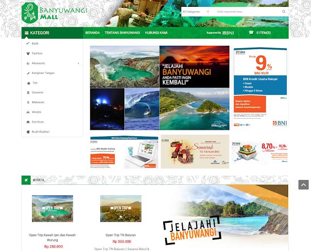 Situs belanja online Banyuwangi Mall.