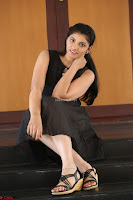 Khanishka new telugu actress in Black Dress Spicy Pics 28.JPG
