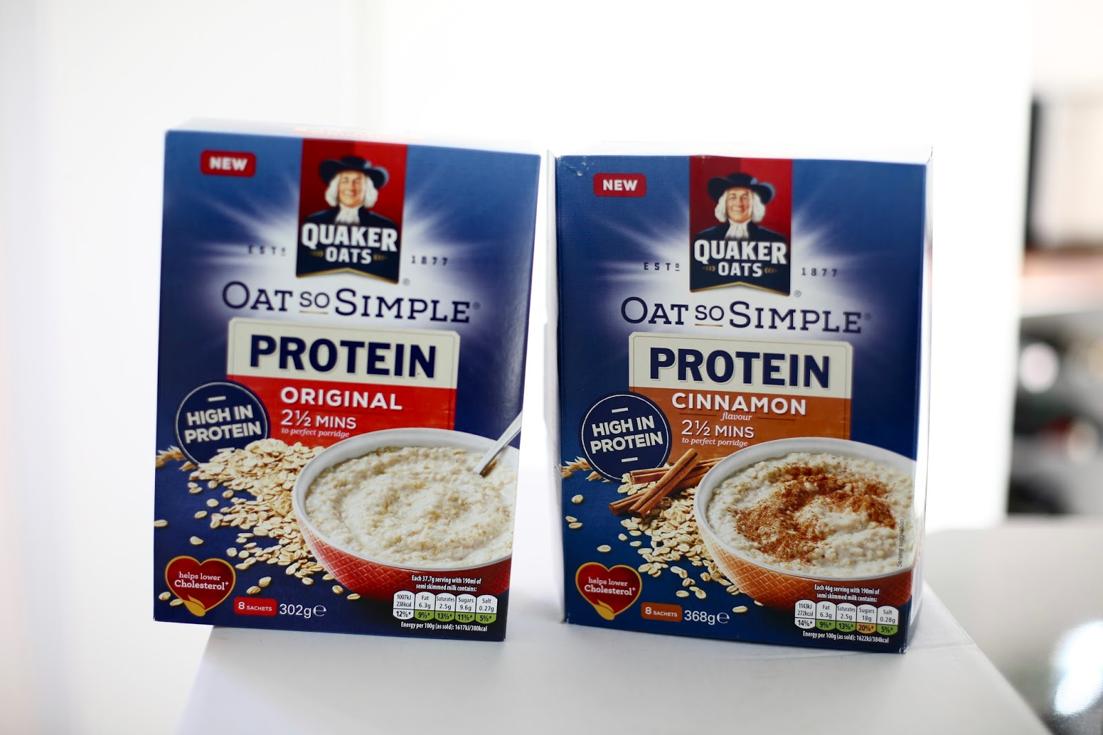 Quaker Oats so simple protein