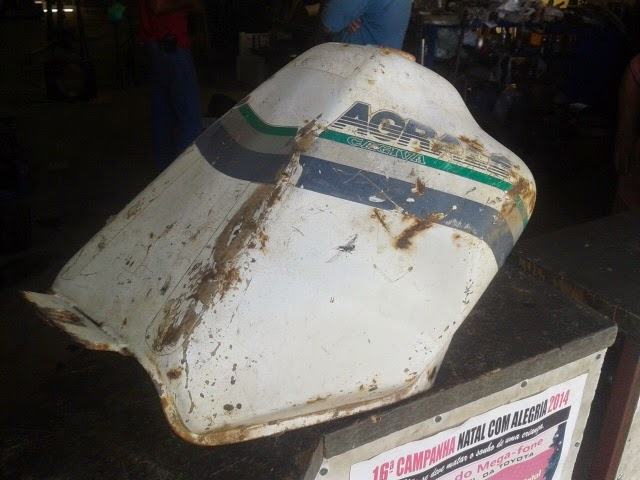 ... de Pelotas RS teve concessionária Honda de 1974 até 2004. tem um  estoque de peças imenso a disposição c439964703eb1