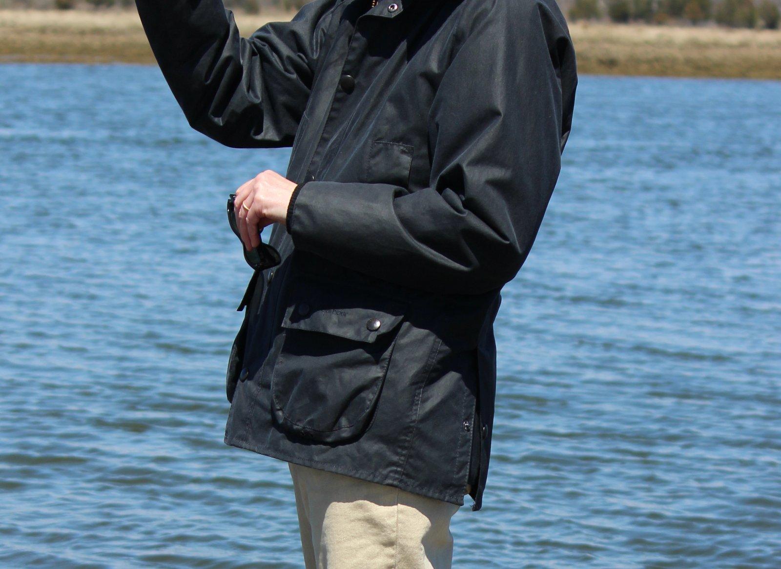 Salt Water New England Barbour Beaufort Vs Bedale