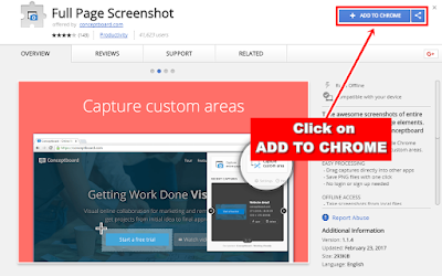 Full page screenshot extension download