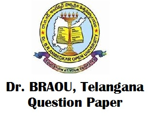 BRAOU Model Question Papers
