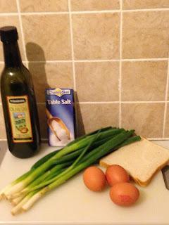 Revuelto de ajetesm ingredientes