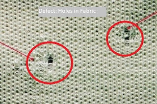 Fabric holes