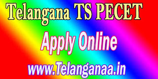 Telangana TS PECET Apply Online TSPECET 2017 Apply Online