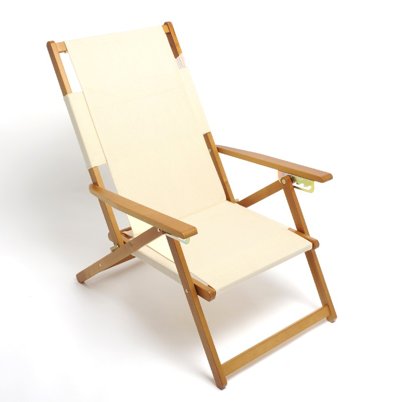 Wood And Canvas Beach Chairs
