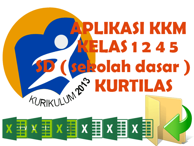 Aplikasi KKM Kurikulum 2013 Untuk Kelas 1 2  4 5 Format Excel