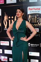 Raai Laxmi in Deep Neck Sleeveless Green Leg Split Gown at IIFA Utsavam Awards 2017  Day 2    HD Exclusive Pics 18.JPG