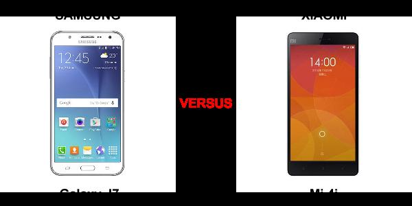 Xiomi Mi 4i VS Samsung Galaxy J7